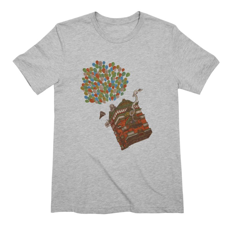 Up in the Spirited Sky Men's Extra Soft T-Shirt by xiaobaosg