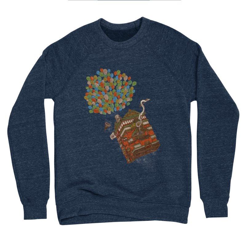 Up in the Spirited Sky Men's Sponge Fleece Sweatshirt by xiaobaosg