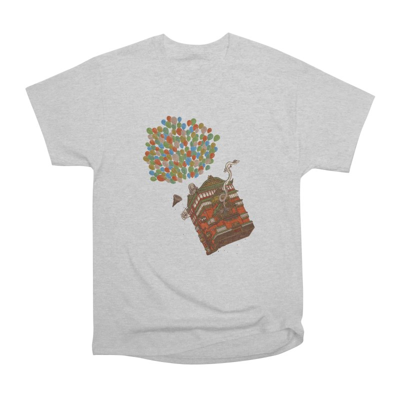 Up in the Spirited Sky Men's Heavyweight T-Shirt by xiaobaosg