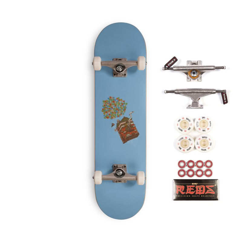 Up in the Spirited Sky Accessories Complete - Pro Skateboard by xiaobaosg