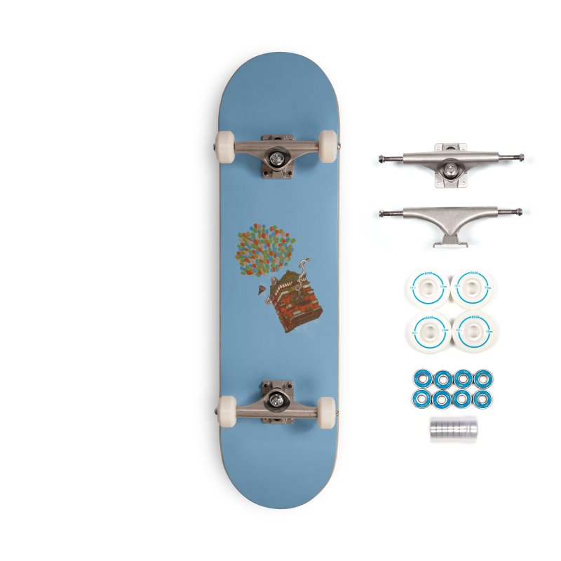 Up in the Spirited Sky Accessories Complete - Basic Skateboard by xiaobaosg
