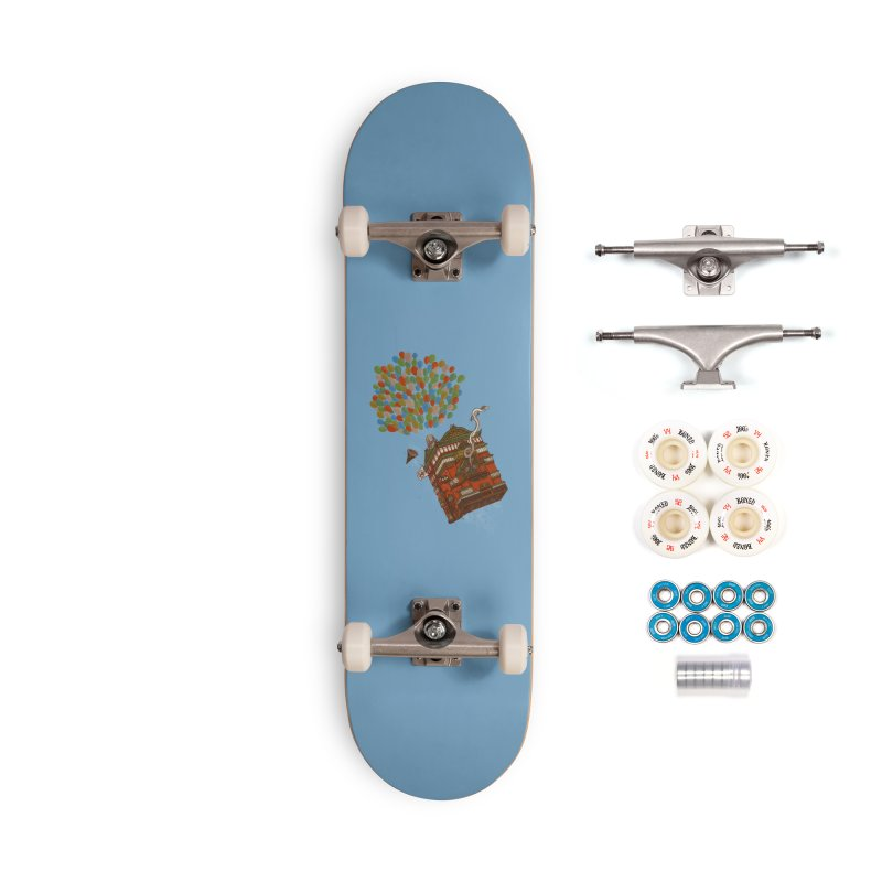 Up in the Spirited Sky Accessories Complete - Premium Skateboard by xiaobaosg