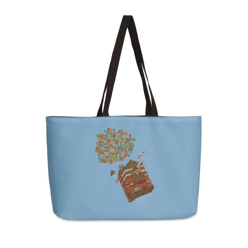Up in the Spirited Sky Accessories Weekender Bag Bag by xiaobaosg