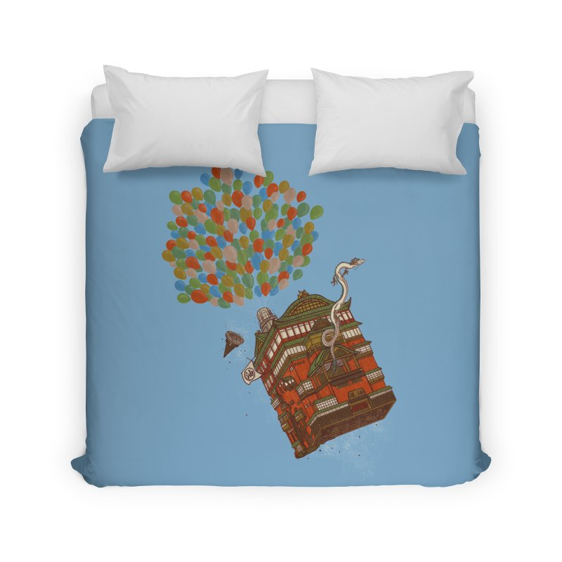 Up in the Spirited Sky Home Duvet by xiaobaosg