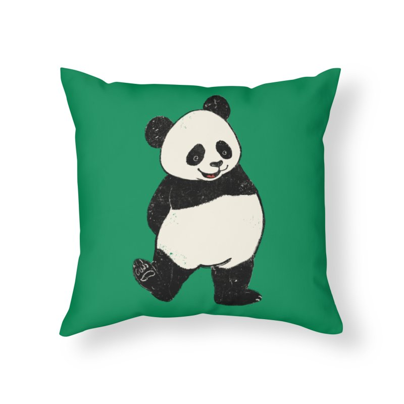 The Classic Pose Home Throw Pillow by xiaobaosg