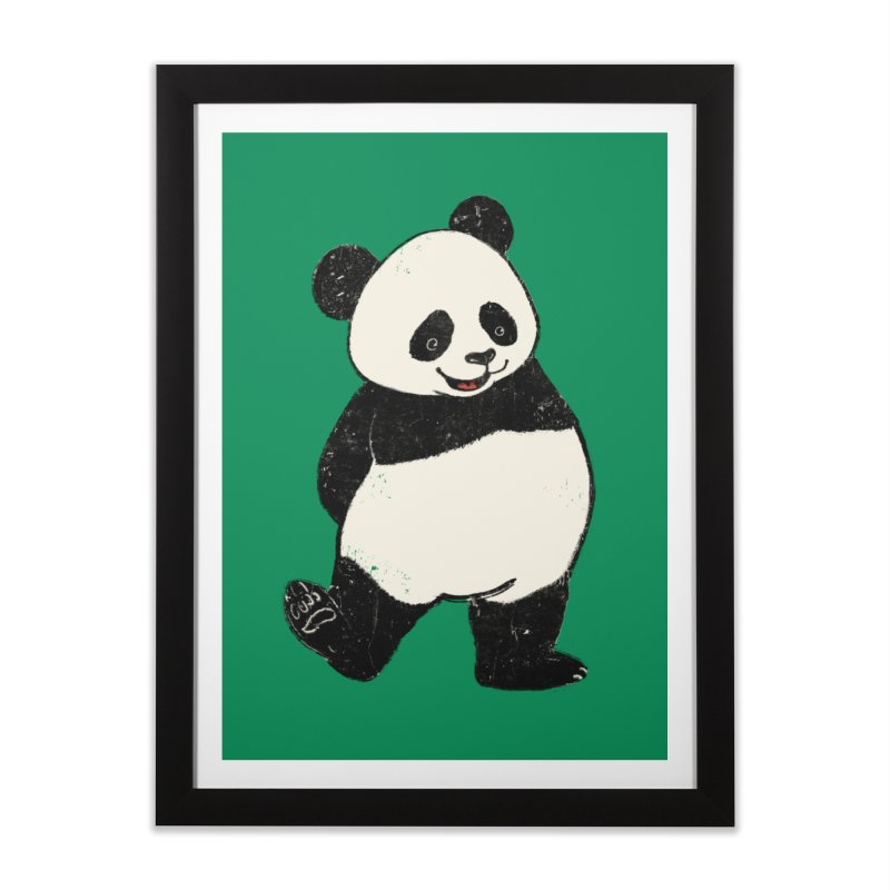 The Classic Pose Home Framed Fine Art Print by xiaobaosg