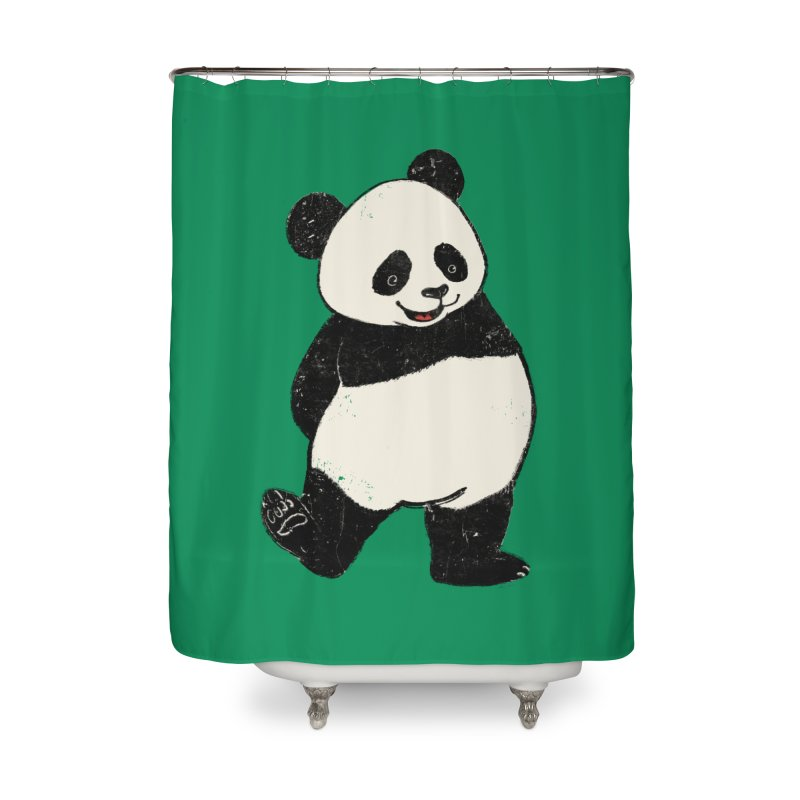 The Classic Pose Home Shower Curtain by xiaobaosg