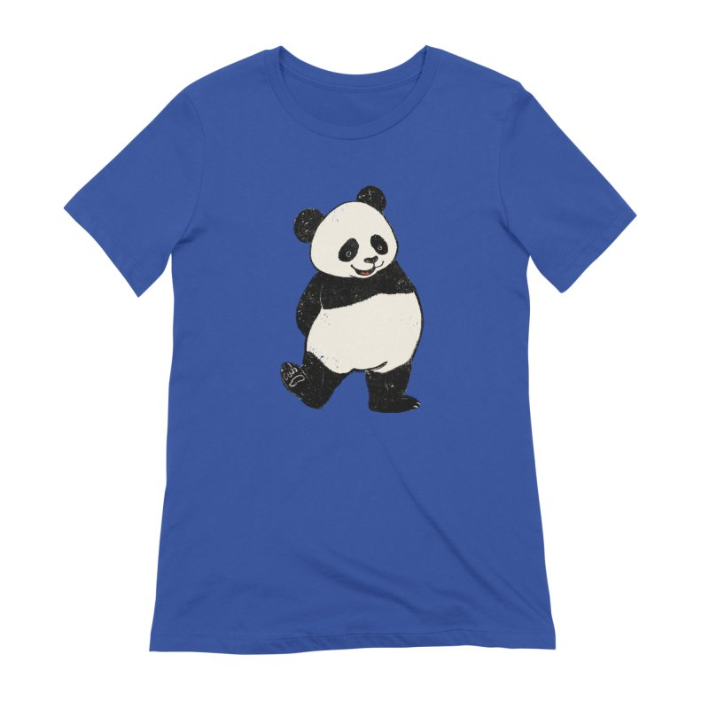 The Classic Pose Women's Extra Soft T-Shirt by xiaobaosg