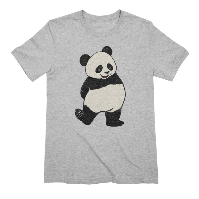 The Classic Pose Men's Extra Soft T-Shirt by xiaobaosg