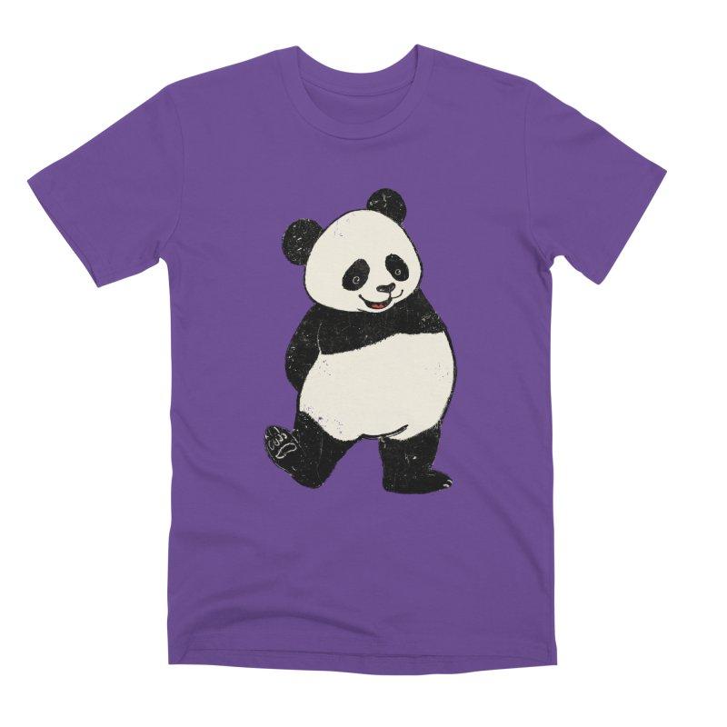 The Classic Pose Men's Premium T-Shirt by xiaobaosg