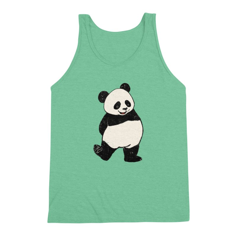 The Classic Pose Men's Triblend Tank by xiaobaosg