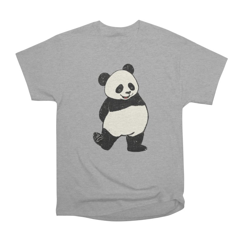 The Classic Pose Men's Heavyweight T-Shirt by xiaobaosg