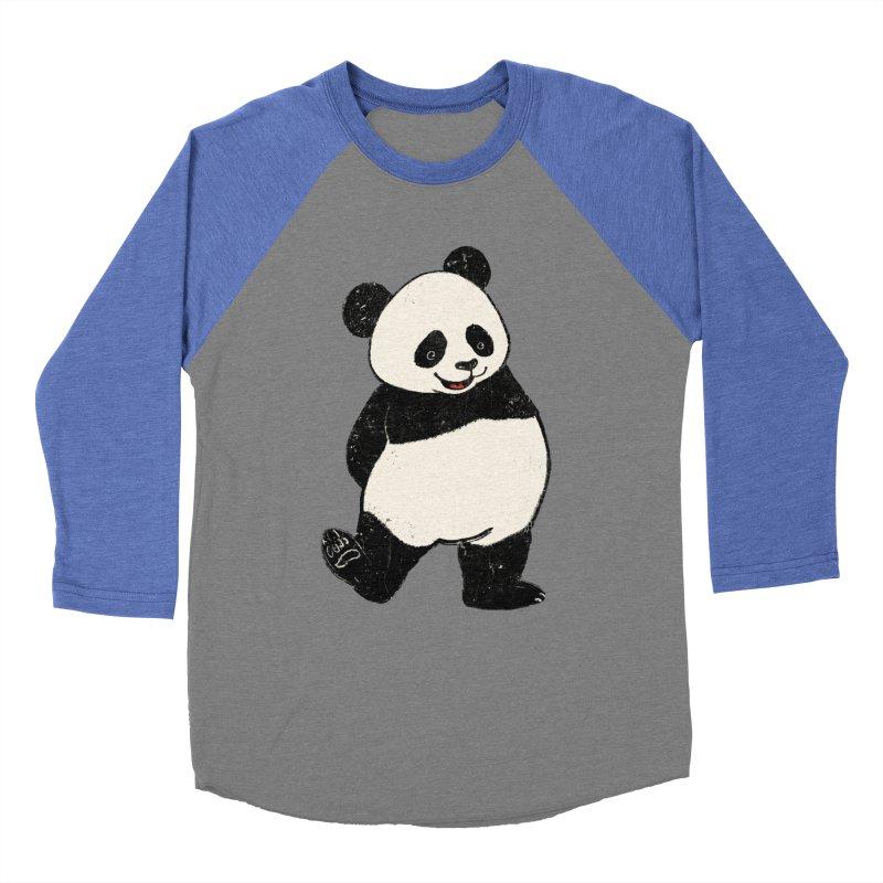 The Classic Pose Men's Baseball Triblend Longsleeve T-Shirt by xiaobaosg