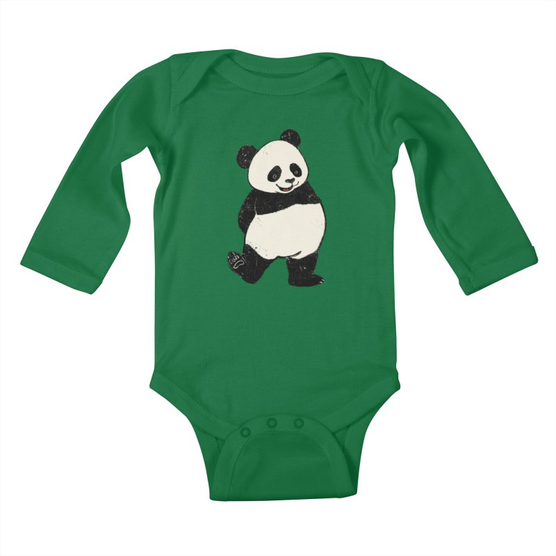 The Classic Pose Kids Baby Longsleeve Bodysuit by xiaobaosg