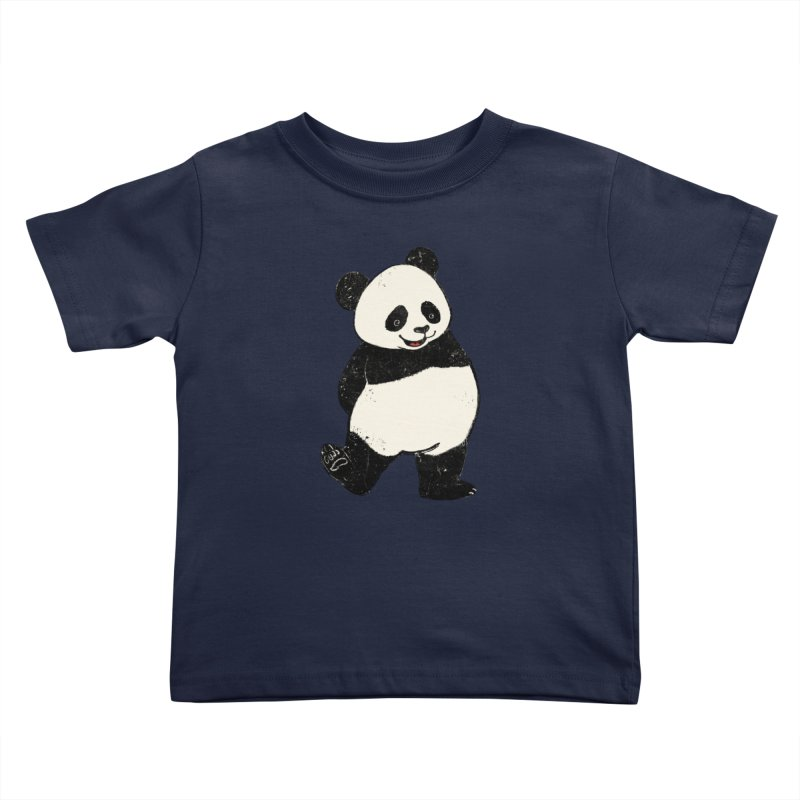 The Classic Pose Kids Toddler T-Shirt by xiaobaosg