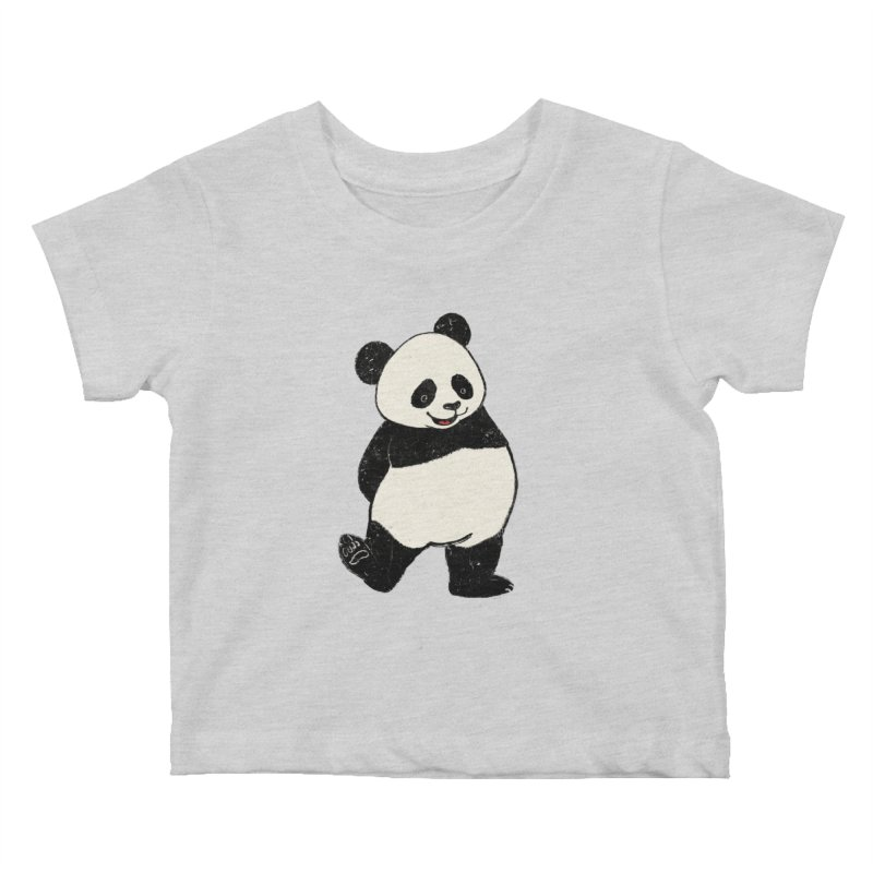 The Classic Pose Kids Baby T-Shirt by xiaobaosg