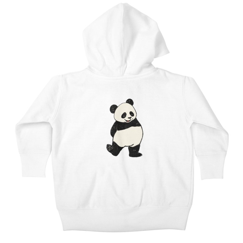 The Classic Pose Kids Baby Zip-Up Hoody by xiaobaosg