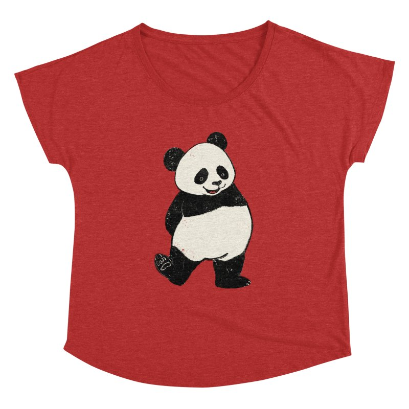 The Classic Pose Women's Dolman Scoop Neck by xiaobaosg