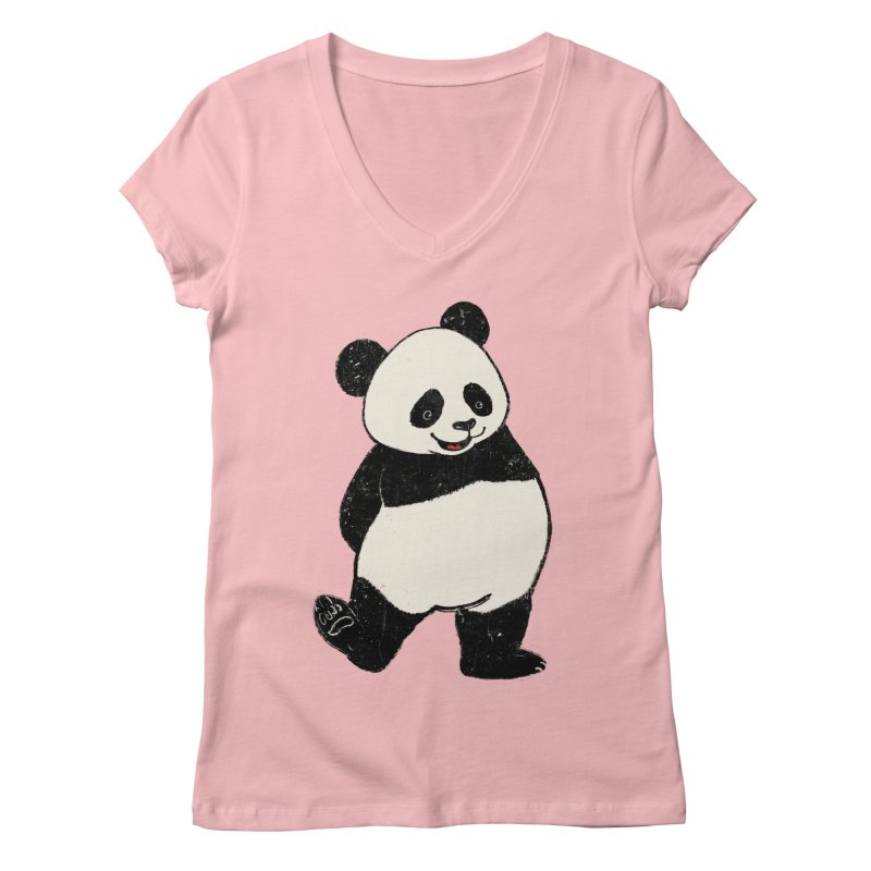 The Classic Pose Women's Regular V-Neck by xiaobaosg