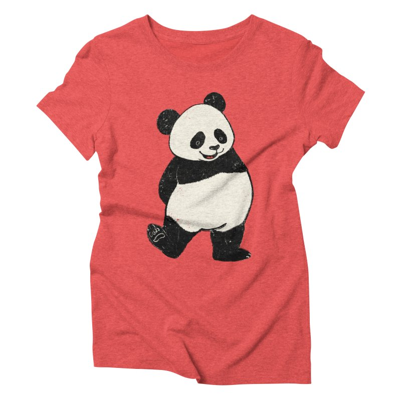 The Classic Pose Women's Triblend T-Shirt by xiaobaosg