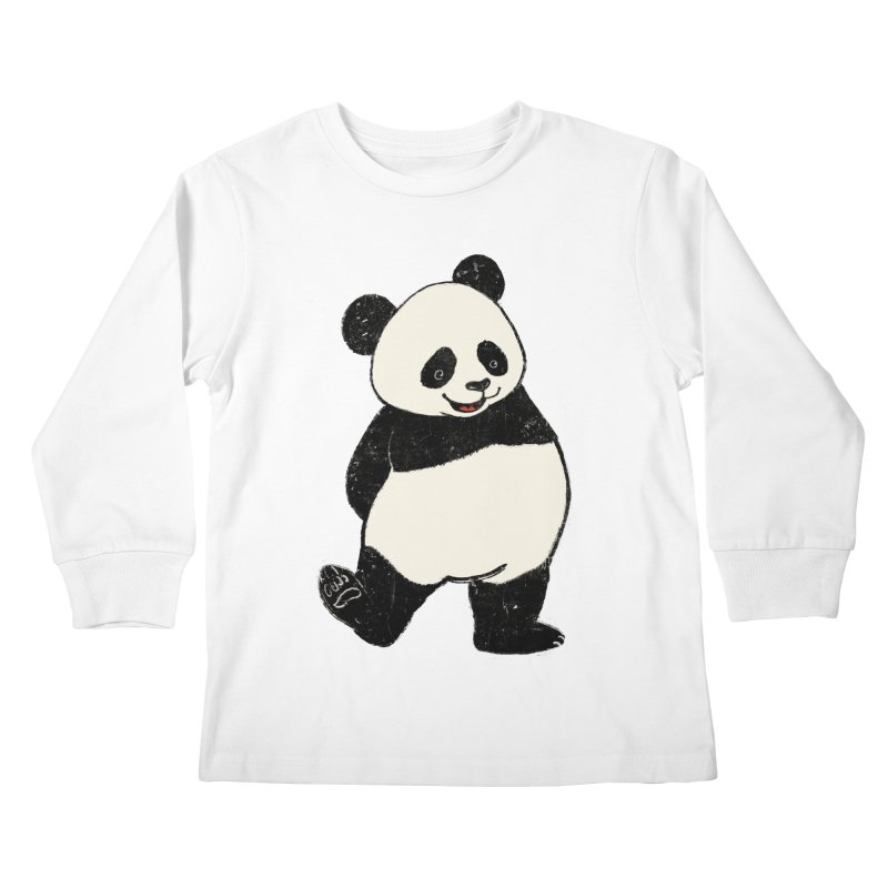 The Classic Pose Kids Longsleeve T-Shirt by xiaobaosg