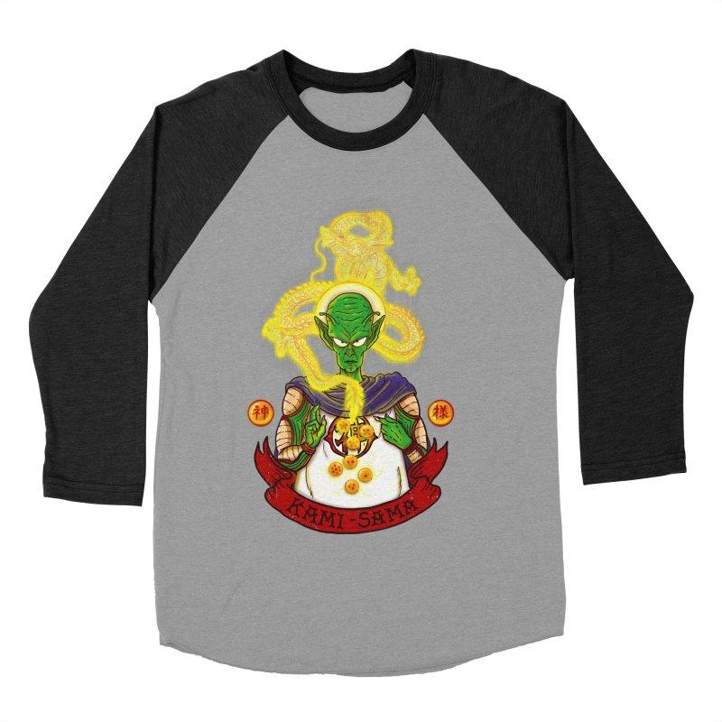 Kami Men's Baseball Triblend Longsleeve T-Shirt by xiaobaosg