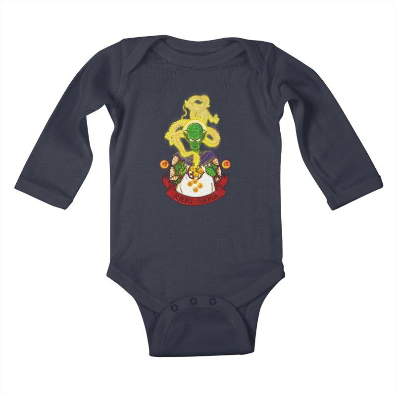 Kami Kids Baby Longsleeve Bodysuit by xiaobaosg