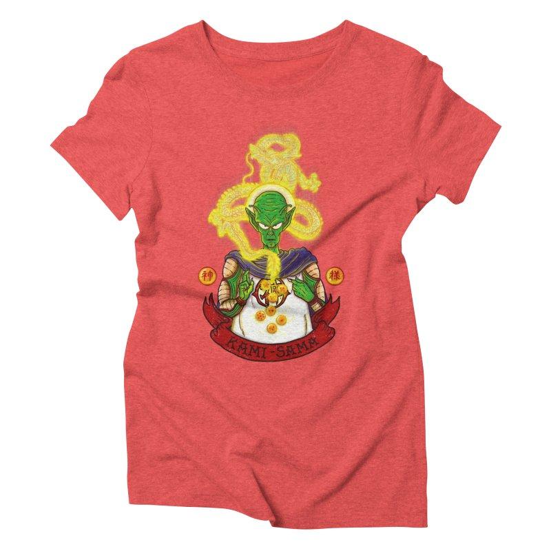 Kami Women's Triblend T-Shirt by xiaobaosg