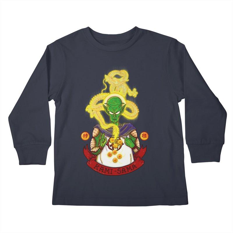 Kami Kids Longsleeve T-Shirt by xiaobaosg