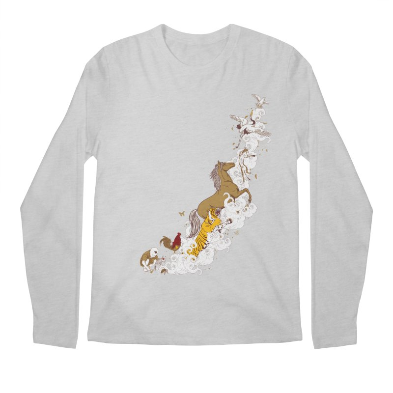 The Magic Paintbrush Men's Longsleeve T-Shirt by xiaobaosg