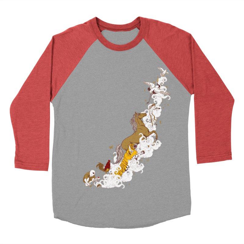 The Magic Paintbrush Women's Baseball Triblend T-Shirt by xiaobaosg