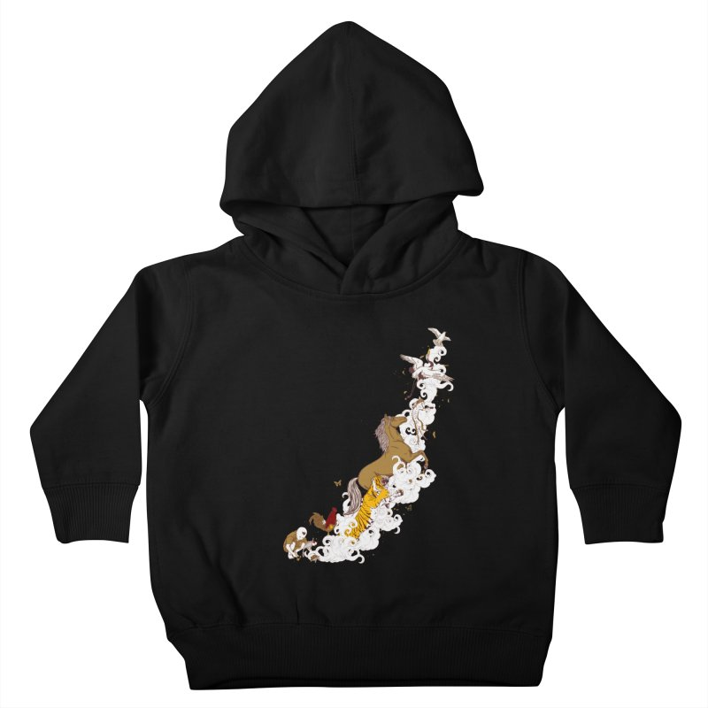 The Magic Paintbrush Kids Toddler Pullover Hoody by xiaobaosg