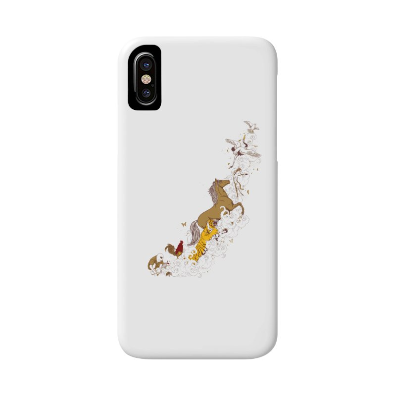 The Magic Paintbrush Accessories Phone Case by xiaobaosg