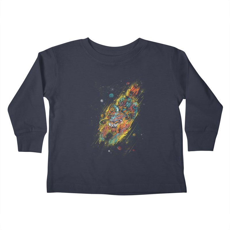 Monster of the Year Kids Toddler Longsleeve T-Shirt by xiaobaosg