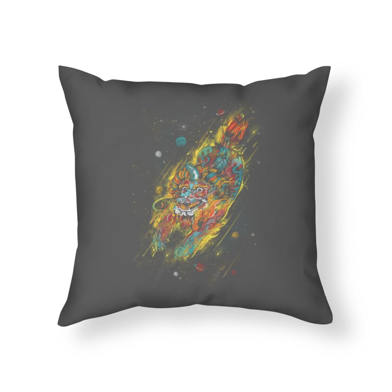 Monster of the Year Home Throw Pillow by xiaobaosg