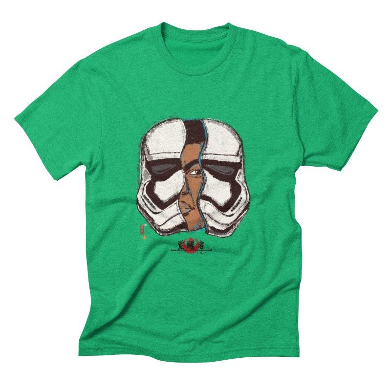 The Awakened Men's Triblend T-shirt by xiaobaosg