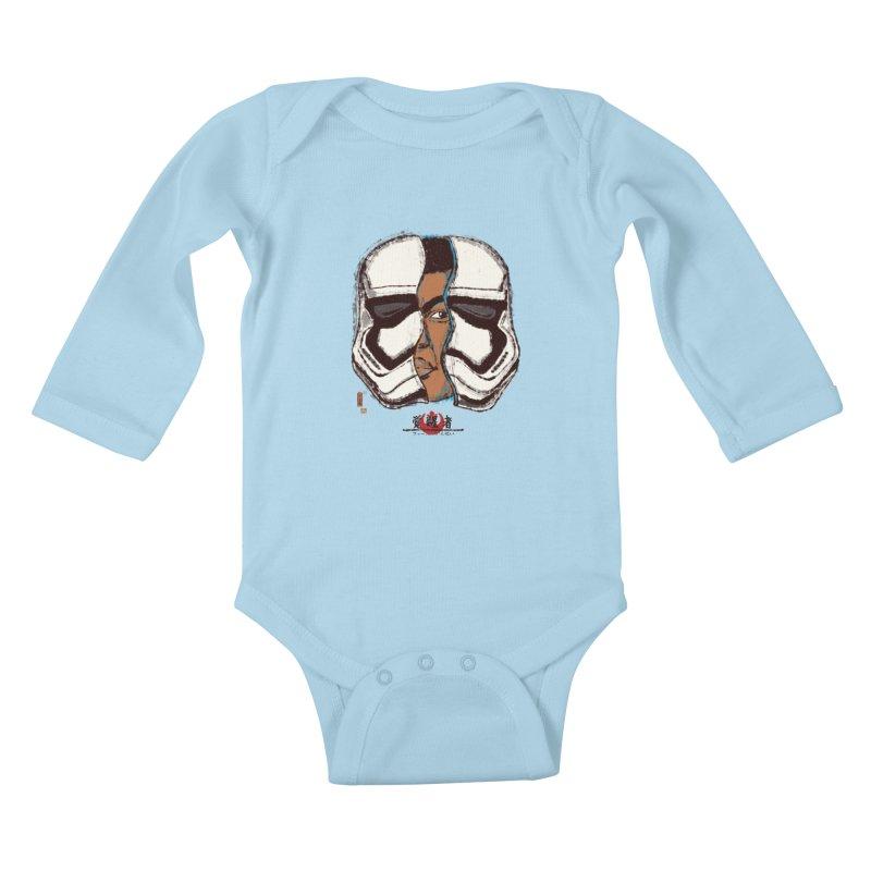 The Awakened Kids Baby Longsleeve Bodysuit by xiaobaosg