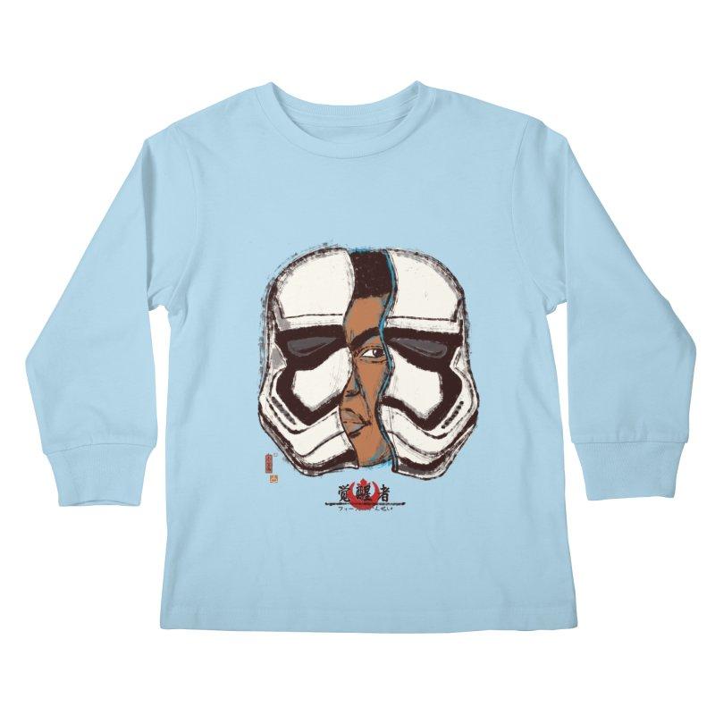 The Awakened Kids Longsleeve T-Shirt by xiaobaosg