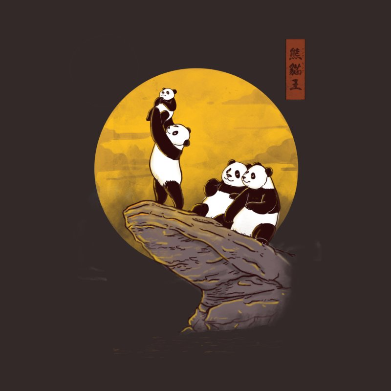 The Panda King Men's Longsleeve T-Shirt by xiaobaosg