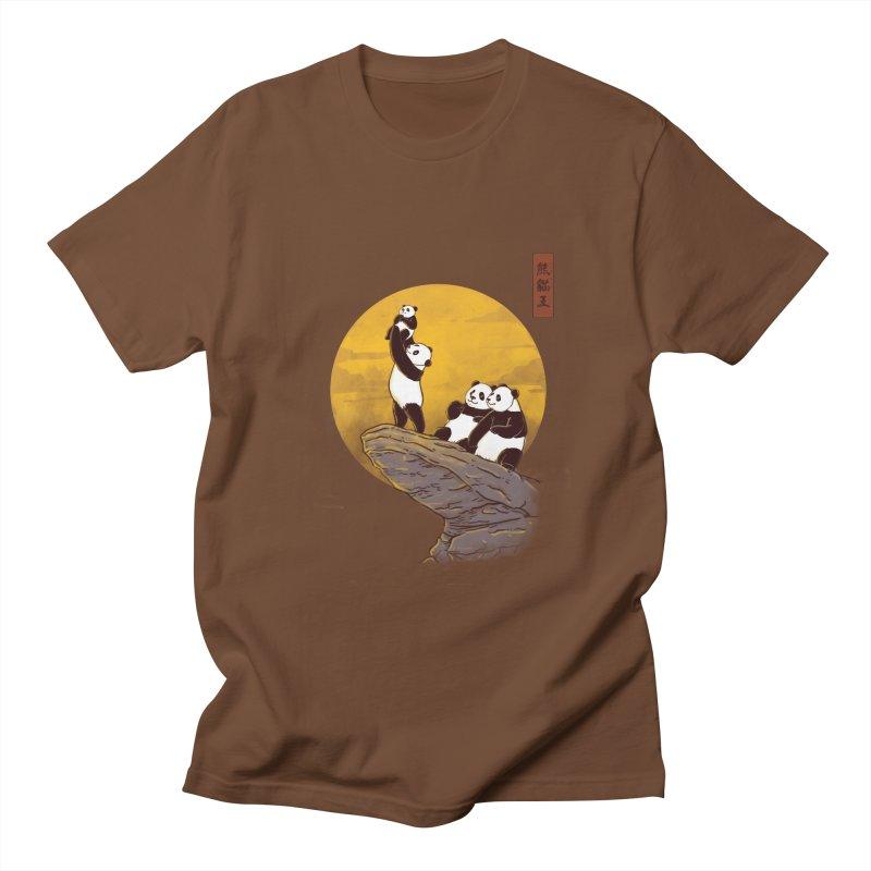 The Panda King Women's Unisex T-Shirt by xiaobaosg