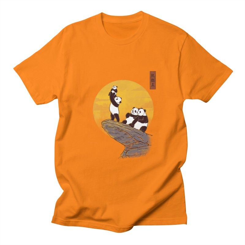 The Panda King Men's T-shirt by xiaobaosg