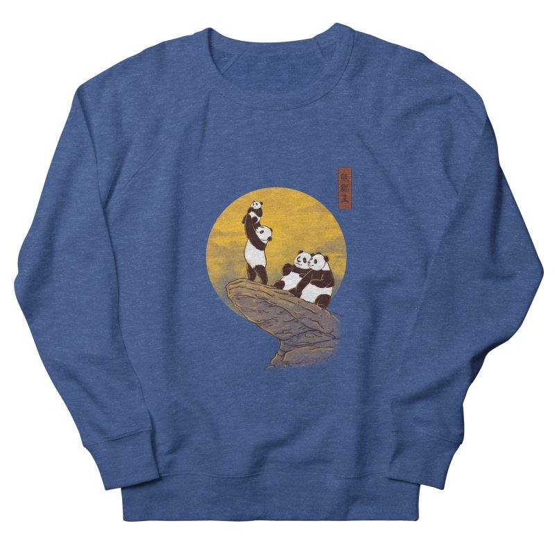 The Panda King Men's Sweatshirt by xiaobaosg