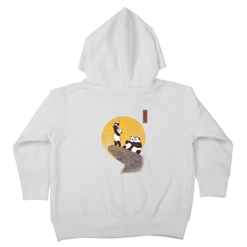 The Panda King Kids Toddler Zip-Up Hoody by xiaobaosg