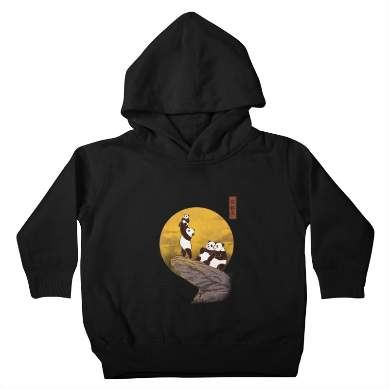 The Panda King Kids Toddler Pullover Hoody by xiaobaosg