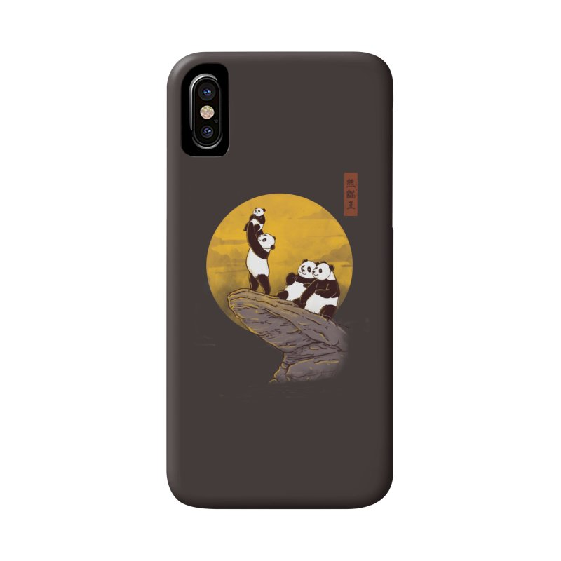 The Panda King Accessories Phone Case by xiaobaosg