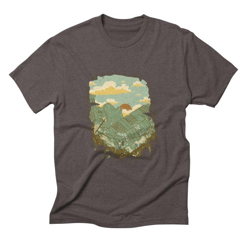 A New Beginning Men's Triblend T-shirt by xiaobaosg