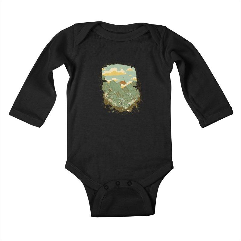 A New Beginning Kids Baby Longsleeve Bodysuit by xiaobaosg