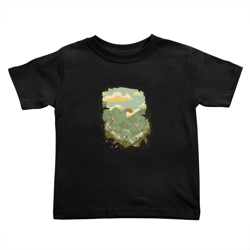 A New Beginning Kids Toddler T-Shirt by xiaobaosg
