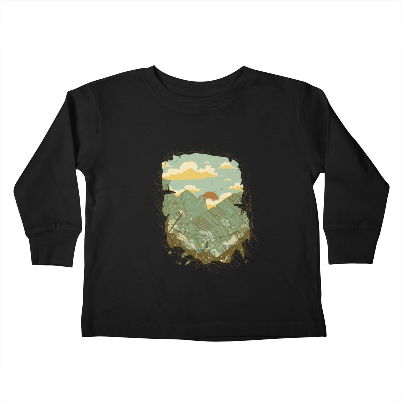 A New Beginning Kids Toddler Longsleeve T-Shirt by xiaobaosg