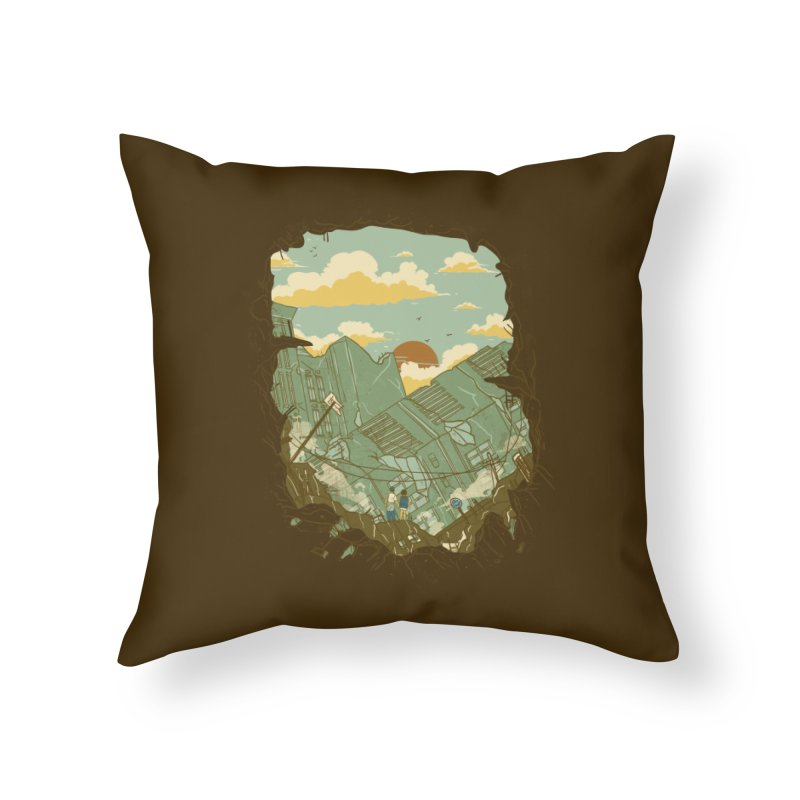 A New Beginning Home Throw Pillow by xiaobaosg